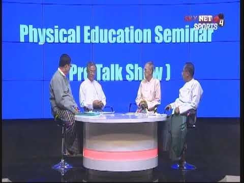 Embedded thumbnail for Physical Education Seminar (Pre Talk Show) Part-3