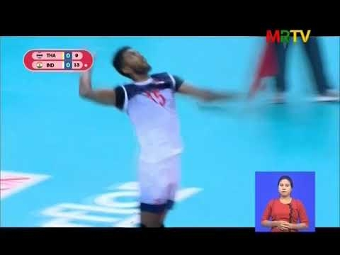 "Embedded thumbnail for SMM 3rd U-23 Asian Men's Club ""Asia World Foundation"" Volleyball Championship ပြိုင်ပွဲဆက်လက်ကျင်းပ"